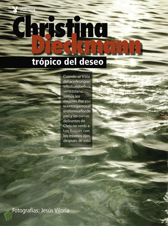 Christina Dieckmann En Playboy Desnuda
